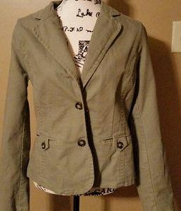 Old Navy olive green blazer sz. L